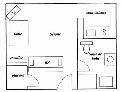 plan appartement 38m2